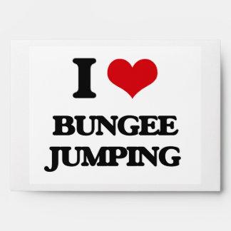 I Love Bungee Jumping Envelope