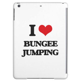 I Love Bungee Jumping iPad Air Case