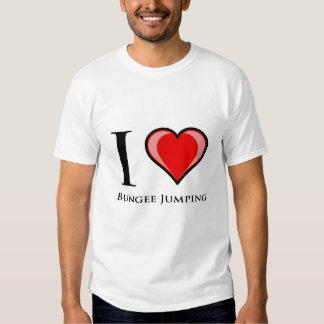 I Love Bungee Jumping T-Shirt