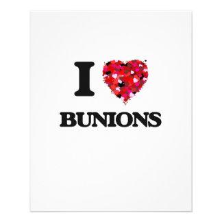 "I Love Bunions 4.5"" X 5.6"" Flyer"