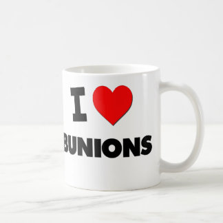 I Love Bunions Coffee Mug