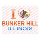 I Love Bunker Hill, IL Postcard