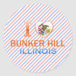 I Love Bunker Hill, IL Sticker
