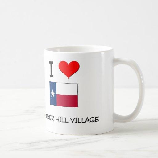 I Love Bunker Hill Village Texas Mug
