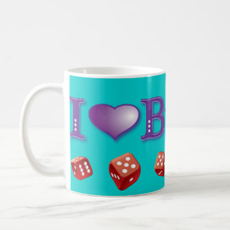 I Love Bunko Coffee Mug
