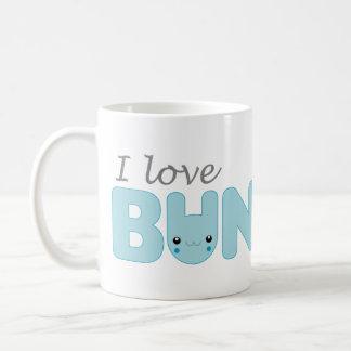 I Love Bunnies (blue) Mug