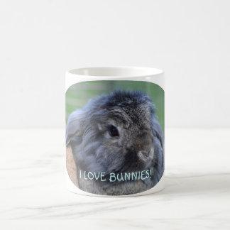 I love bunnies mug. morphing mug