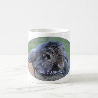 I love bunnies mug.