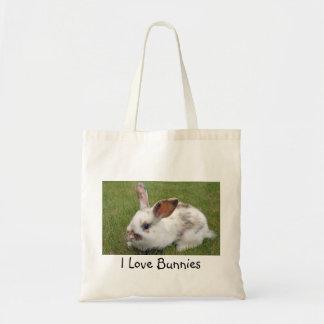 I love bunnies shopping bag