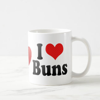 I Love Buns Coffee Mug