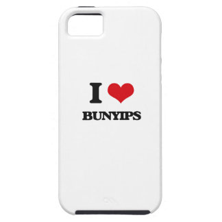 I love Bunyips iPhone 5 Cases
