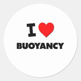 I Love Buoyancy Sticker