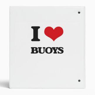 I Love Buoys 3 Ring Binder