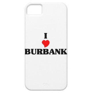 I love Burbank Il iPhone 5 Case