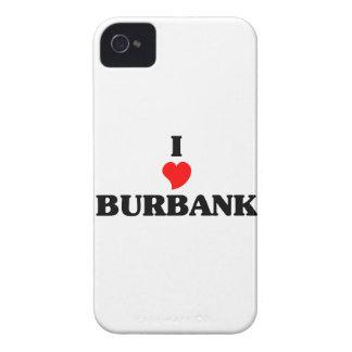 I love Burbank Il iPhone 4 Case