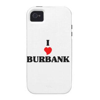 I love Burbank Il iPhone 4 Cover