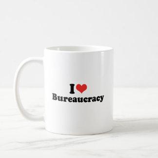 I LOVE BUREAUCRACY - .png Coffee Mug