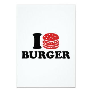 I love Burger Invites