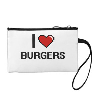I Love Burgers Coin Wallets
