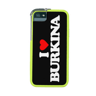 I LOVE BURKINA iPhone 5/5S CASE