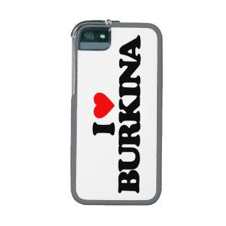 I LOVE BURKINA iPhone 5 COVER
