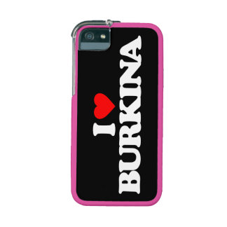 I LOVE BURKINA iPhone 5/5S COVERS