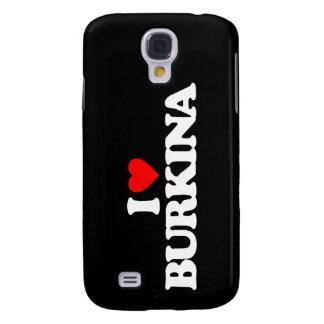 I LOVE BURKINA GALAXY S4 CASE