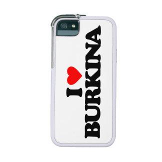 I LOVE BURKINA CASE FOR iPhone 5
