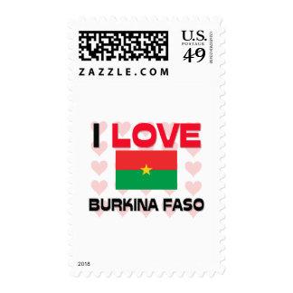 I Love Burkina Faso Postage