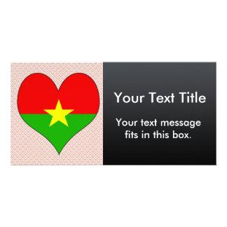 I Love Burkina Photo Card