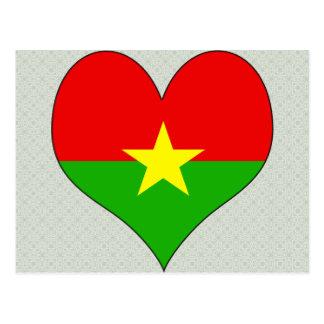 I Love Burkina Postcards
