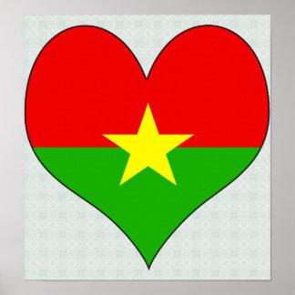 I Love Burkina Poster