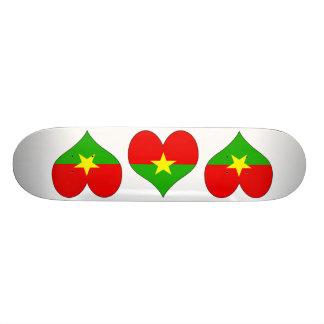 I Love Burkina Skate Board Deck