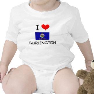 I Love BURLINGTON Kansas Shirt
