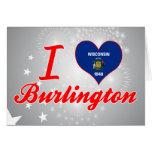 I Love Burlington, Wisconsin Cards