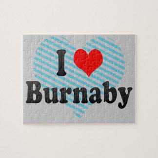 I Love Burnaby, Canada. I Love Burnaby, Canada Jigsaw Puzzle
