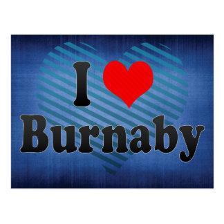 I Love Burnaby, Canada. I Love Burnaby, Canada Postcard