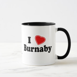 I Love Burnaby Mug