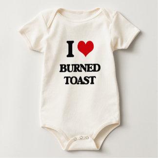 I love Burned Toast Bodysuits