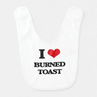 I love Burned Toast Bibs