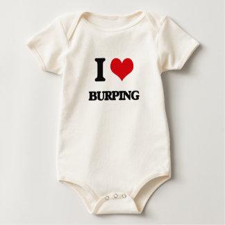 I Love Burping Bodysuits
