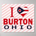 I love Burton, Ohio Poster