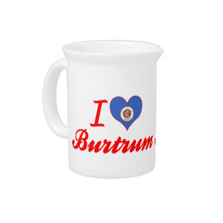 I Love Burtrum Minnesota Pitchers