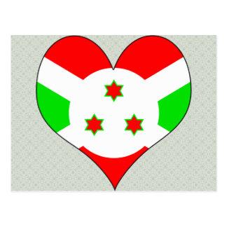 I Love Burundi Postcard