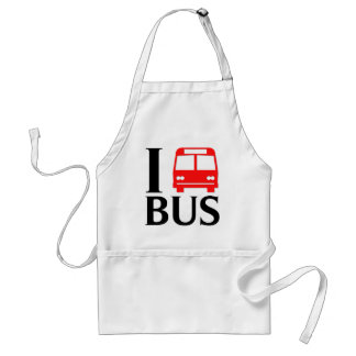 I Love Bus | I Love The Bus | Bus Apron