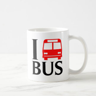 I Love Bus | I Love The Bus | Bus Coffee Mug