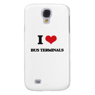I Love Bus Terminals Samsung Galaxy S4 Cases