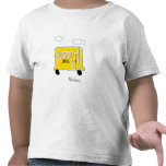 I Love Buses Front Only Tee Shirt