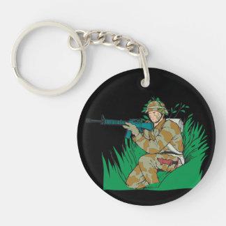 I Love Bush Keychain