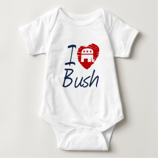 I LOVE BUSH SKETCH -.png Baby Bodysuit